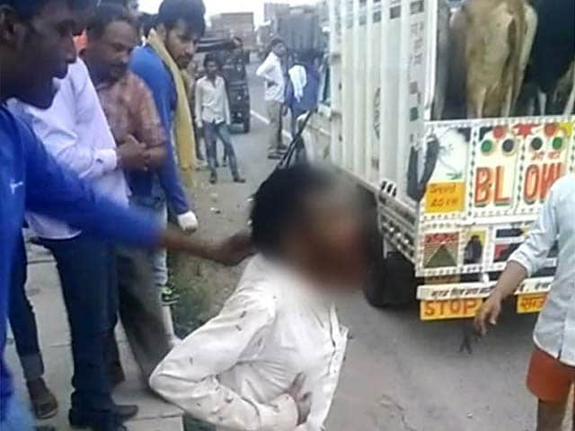 Video : On Mob Killing By Cow Vigilantes, Rajasthan Minister Says Both Sides To Blame