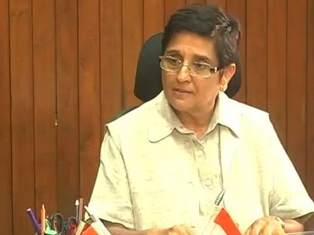 Video : Gang Up For Puducherry, Not Against Me: Kiran Bedi's Message To Lawmakers
