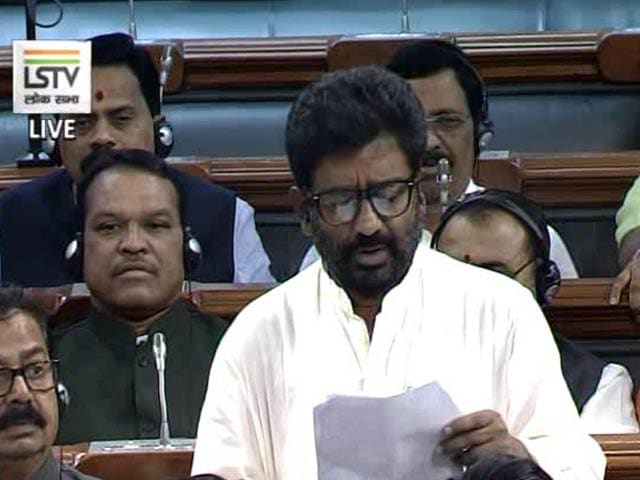 Video : Apologise To Parliament, Not To Air India Manager, Says Sena MP