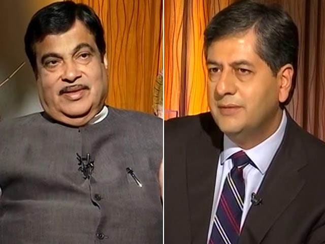 Video : 'Hindutva Hindus Progressive, Painted As Anti-Minority': Nitin Gadkari To NDTV
