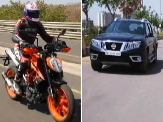 Video : 2017 Nissan Terrano, KTM Duke 390, Shell Concept Car And BS3 Ban