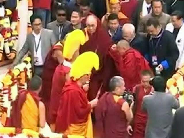 Videos : अरुणाचल दौरे पर दलाई लामा, तवांग में हुआ शानदार स्वागत