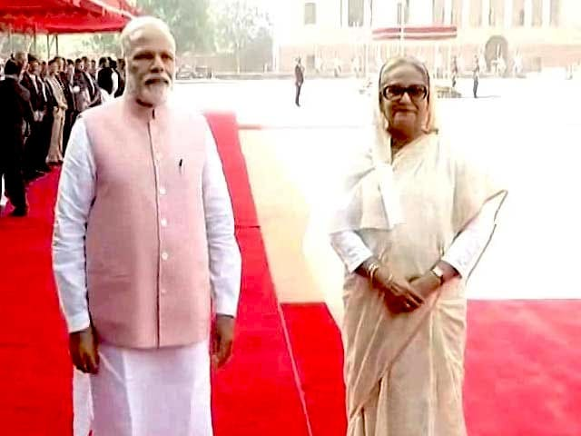 Video : As PM Modi Meets Sheikh Hasina, 25 Deals On Cards But Teesta Will Have To Wait