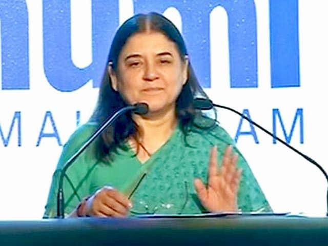 Videos : महिलाओं के खिलाफ हिंसा के लिए फ़िल्में ज़िम्मेदार : मेनका गांधी