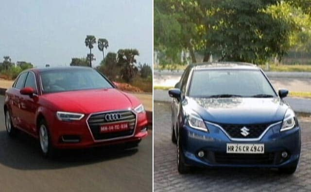 Baleno RS And Audi A3 Facelift