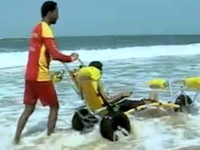 This Beach In Goa Just Became Friendly For People With Disabilities
