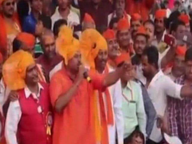 Video : BJP Legislator Wants To 'Behead' Those Opposed To Temple in Ayodhya