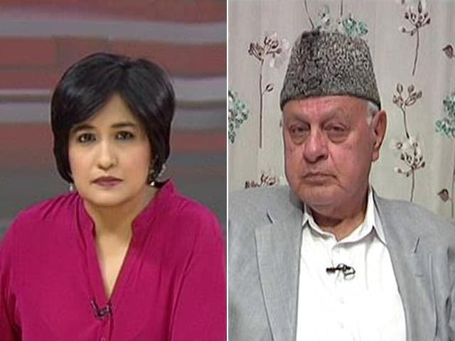 Video : Jammu And Kashmir Government Targeted, Obstructed Our Voters': Farooq Abdullah