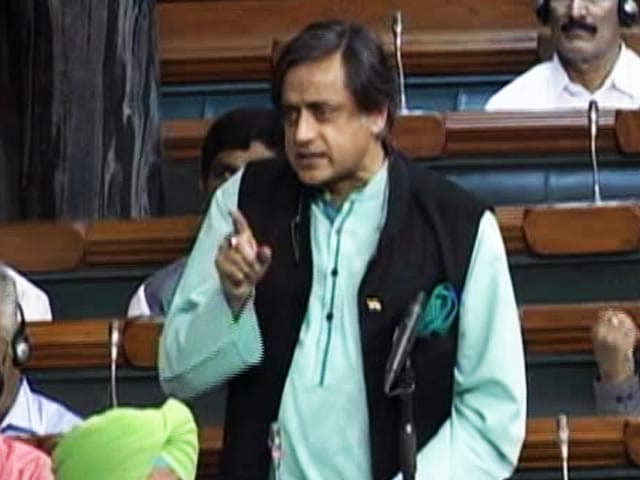 Video : Sushma Swaraj Asks Shashi Tharoor To Draft Response Against Pakistan
