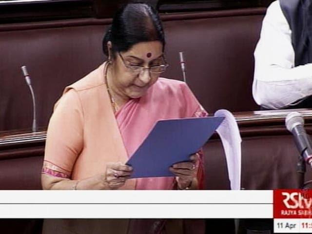 Video : GOOD EVENING इंडिया : संसद में उठा कुलभूषण जाधव का मुद्दा, सुषमा ने पाक को दी कड़ी चेतावनी