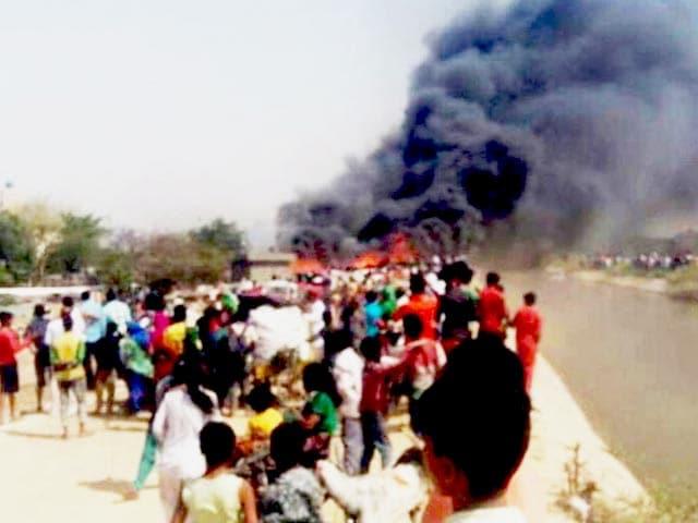 Videos : बवाना इंडस्ट्रियल एरिया की झुग्गियों में आग