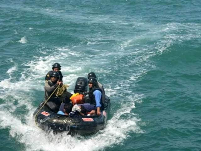 Video : India Rescues 2 Drowning Pak Commandos Off Gujarat Coast