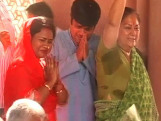 Video : BJP Wins Rajasthan's Dholpur, Murder Convict's Wife Is Candidate