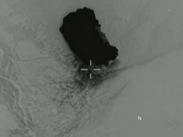 Videos : US ने ISIS ठिकाने पर गिराया सबसे बड़ा बम, जारी हुआ वीडियो
