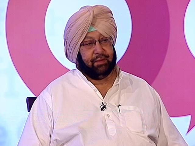 Video : In Conversation With Punjab Chief Minister Captain Amarinder Singh