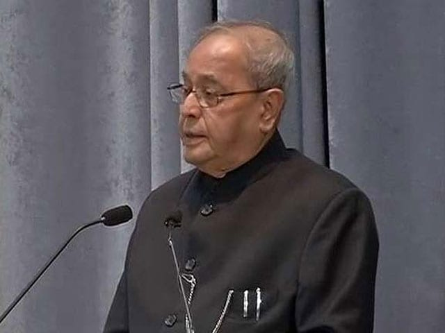 Video : No Offence, But No, Says BJP On President Pranab's 2nd Term: Sources