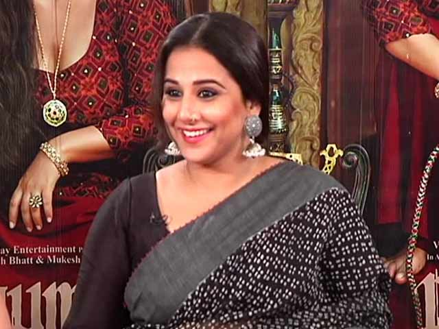 Vidya Balan On One Of The Many Things She Loves About Begum Jaan