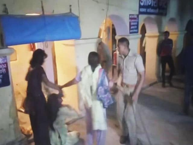 Video : Woman Ran Into UP Police Station For Protection, Shot Dead