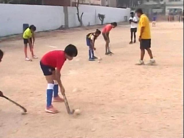 Video : Bengaluru Academy Teaching Hockey And Life Skills