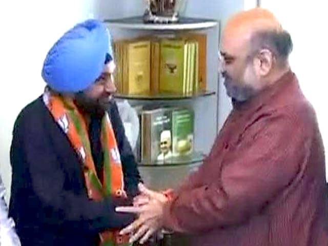 Video : कांग्रेस के नेता अरविंदर सिंह लवली हुए बीजेपी में शामिल