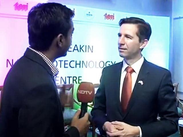 Video : Strengthening The India-Australia Education Bond Through Nano-Biotech