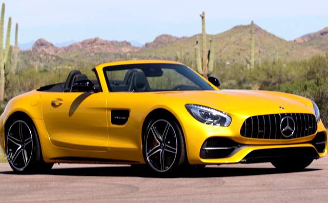 Video : Mercedes-AMG GT C Roadster Review