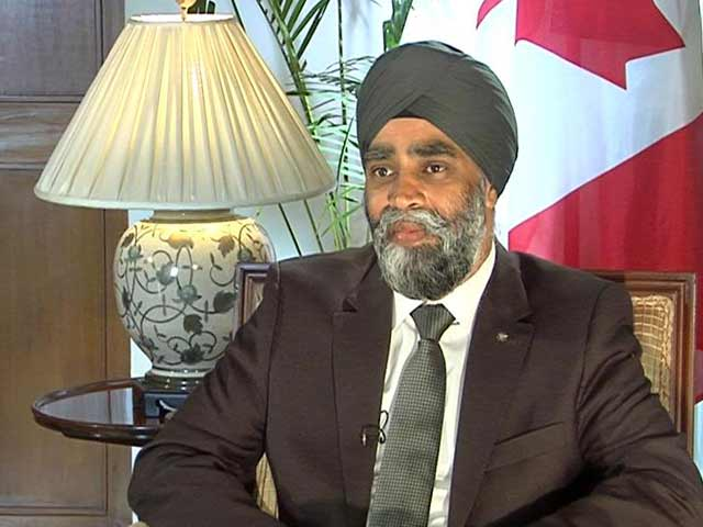 Video : 'It Does Hurt', Says Canadian Defence Minister, Accused Of Links With Khalistan Movement