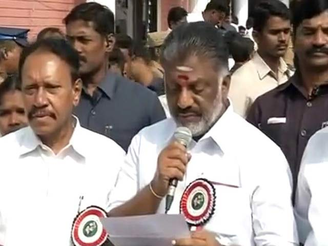 Video : 'First Victory,' Says O Panneerselvam, As VK Sasikala Is Sidelined By AIADMK