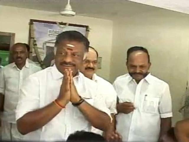 Video : To O Panneerselvam's New Tough Talk, A Soft Response From Rival Faction