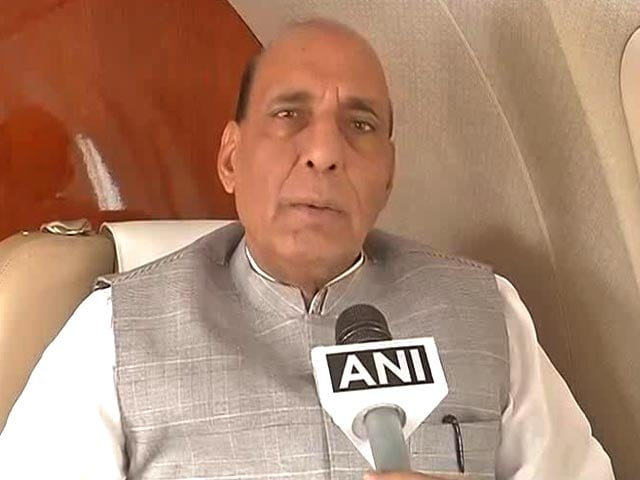 Video : All Chief Ministers Must Ensure Safety Of Kashmiris: Rajnath Singh