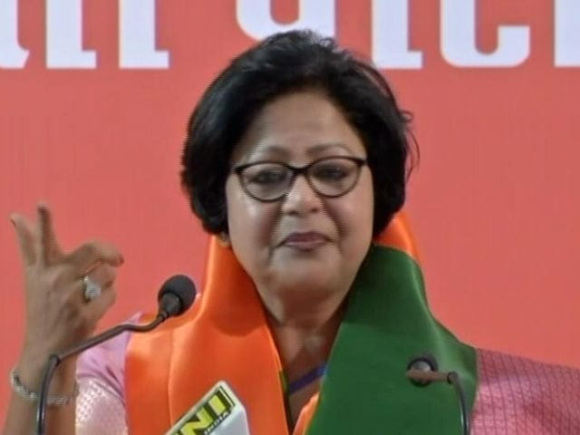 Video: After Roasting Rahul Gandhi, Congress Barkha Shukla Singh Joins BJP