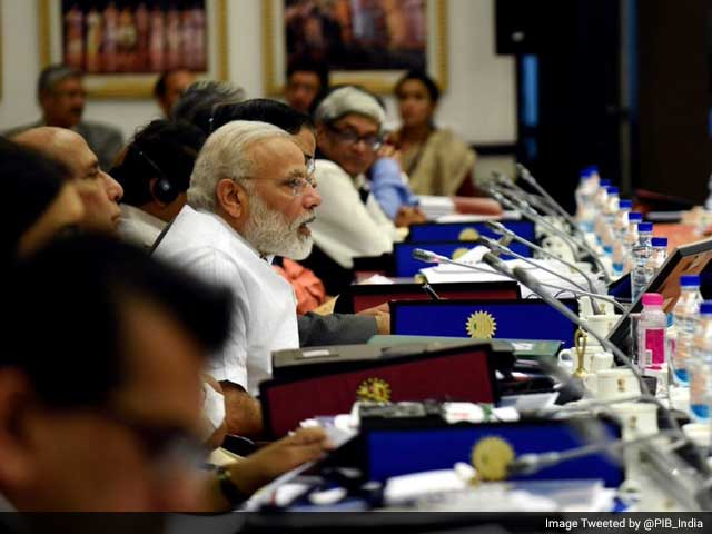Work With Me As 'Team India', PM Tells States At NITI Aayog Meet