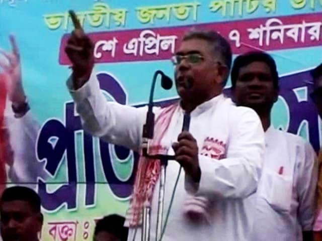 Oppose Jai Sri Ram, Get Beaten, Says Bengal BJP Boss. Agreed, Says Senior