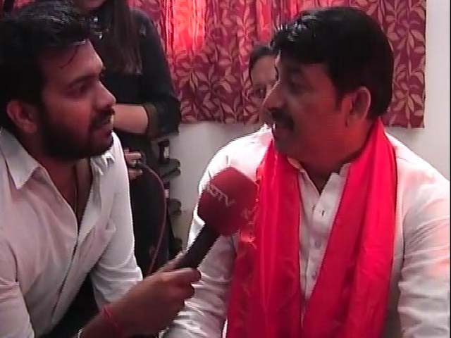 Video : Expect To Win 270 Seats, Says Delhi BJP President Manoj Tiwari