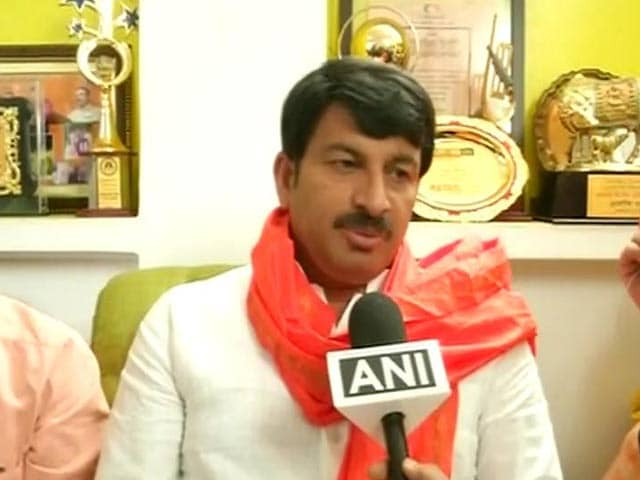 No Celebrations Due To Sukma Attack: Manoj Tiwari After BJP Win In MCD Elections