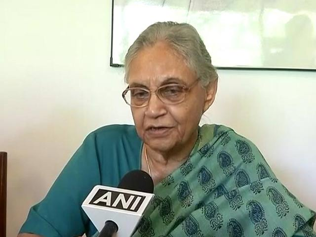 Didn't Campaign Because I Wasn't Asked: Congress' Sheila Dikshit