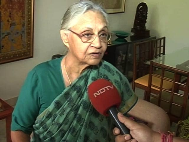 'Yes, There's A BJP Wave,' Says Sheila Dikshit After Delhi Result