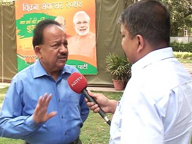 Huge Anger Against AAP, They Failed To Deliver In Delhi: BJP's Harsh Vardhan