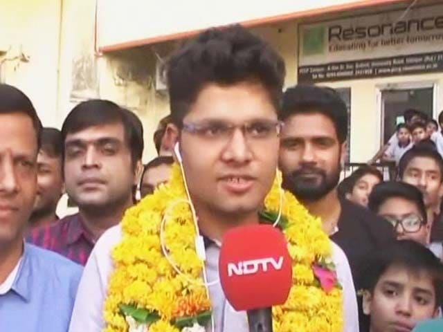 Video : 100% In JEE Main Exam: Meet The Udaipur Wunderkid