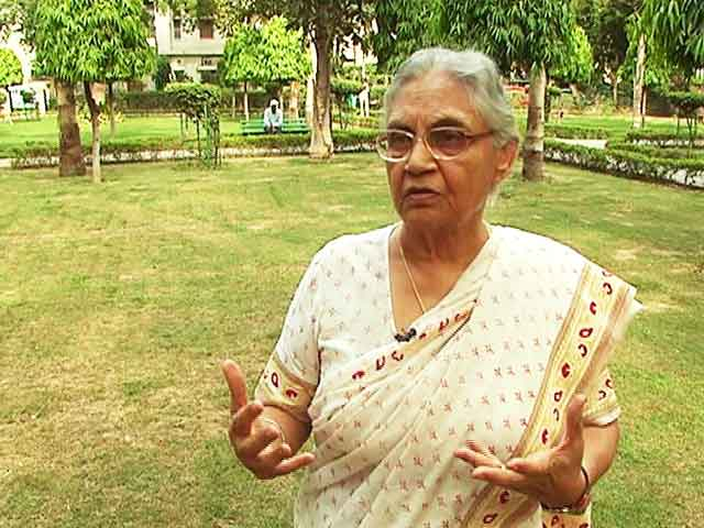 'Rahul Gandhi Should Be More Accessible': Sheila Dikshit On Walk The Talk