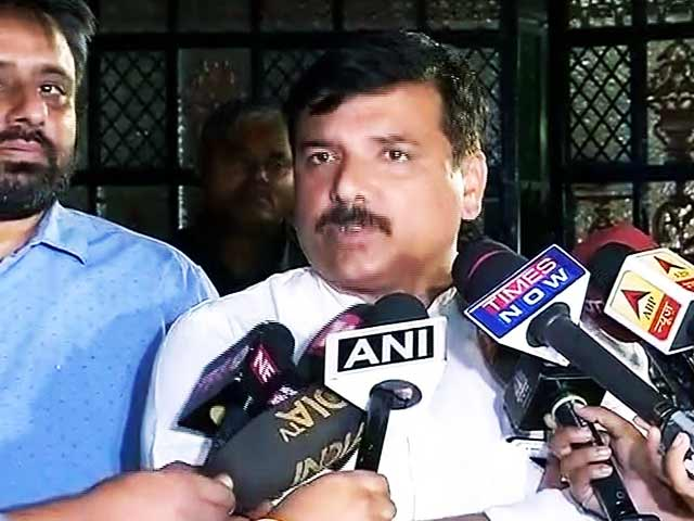 Video : संजय सिंह ने दिया अरविंद केजरीवाल पर उठ रहे सवालों का जवाब