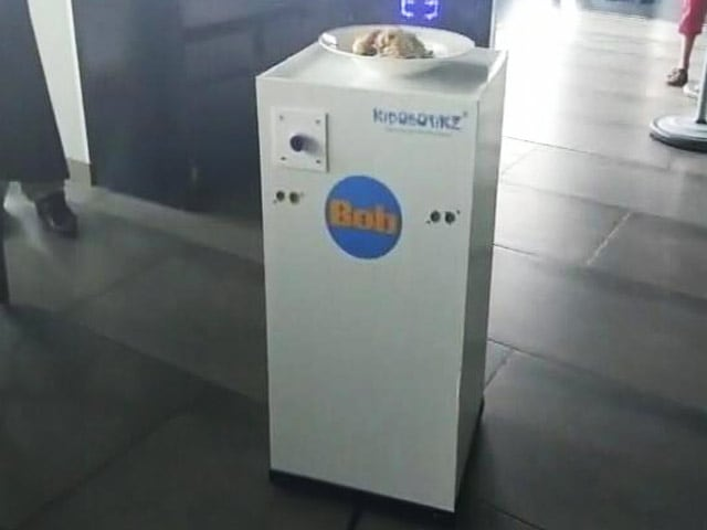 At Bengaluru Restaurants, 'BoB' The Robot Is A Bigger Draw Than Food
