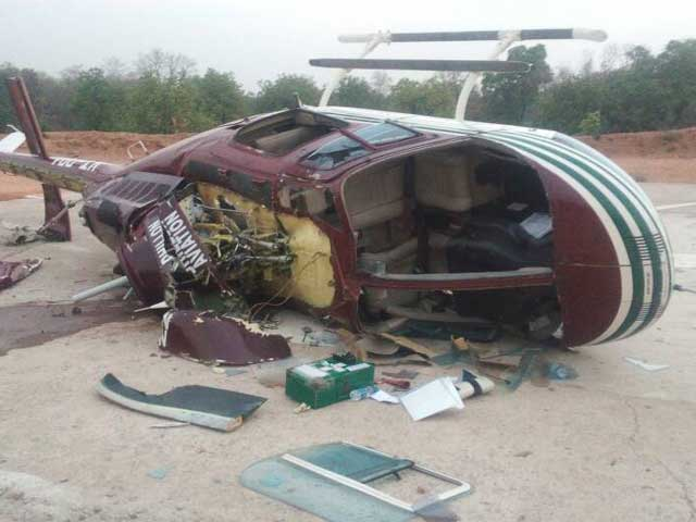 Helicopter Carrying COBRA Commandos Crash Lands In Sukma
