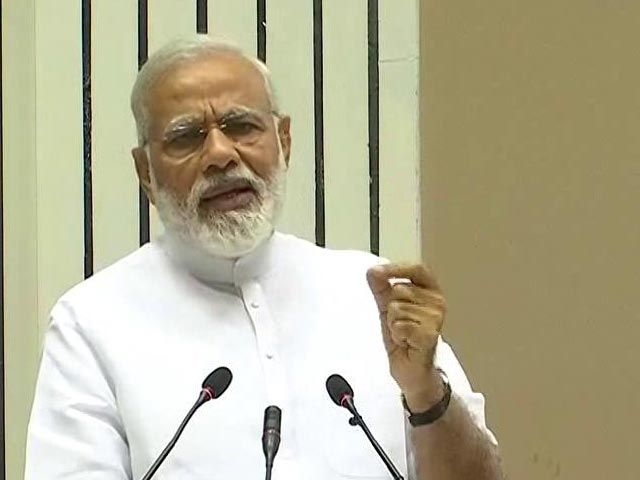 Video : Triple Talaq Shouldn't Be Seen From Political Prism: PM Modi