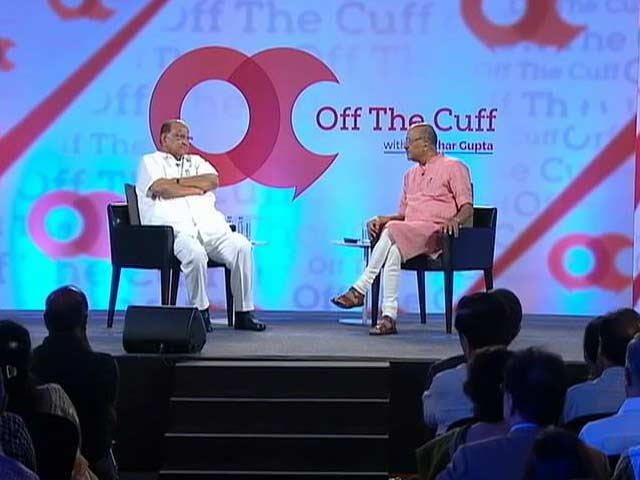 Off the Cuff with Sharad Pawar