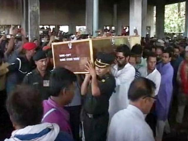 Thousands Attend Captain Ayush Yadav's Funeral