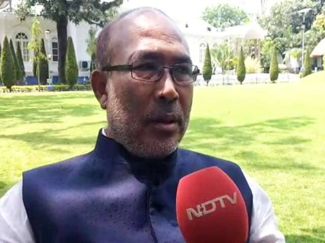 Video : Manipur's N Biren Singh Calls For CBI Scrutiny Into Previous Regime