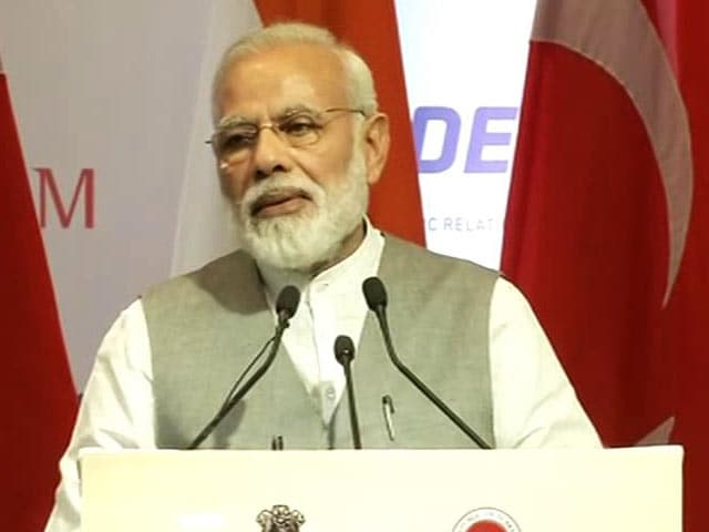 Video : Time To Take Bilateral Ties With Turkey To Next Level, Says PM Modi