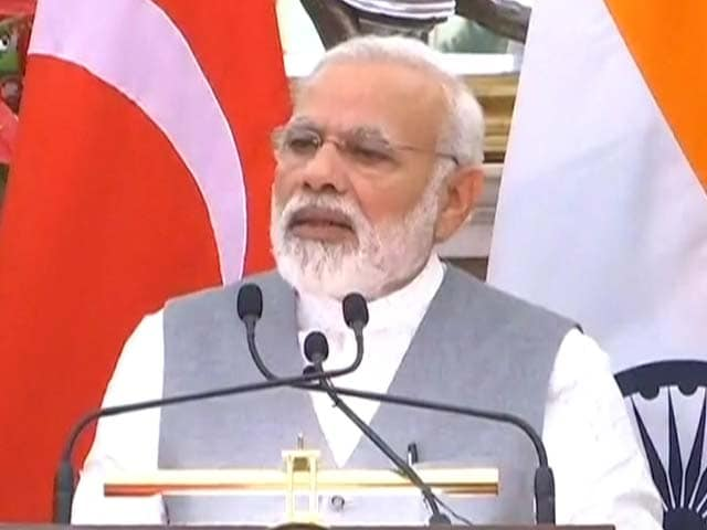 Video : We Need To Work As One to Disrupt Terror Network: PM Modi