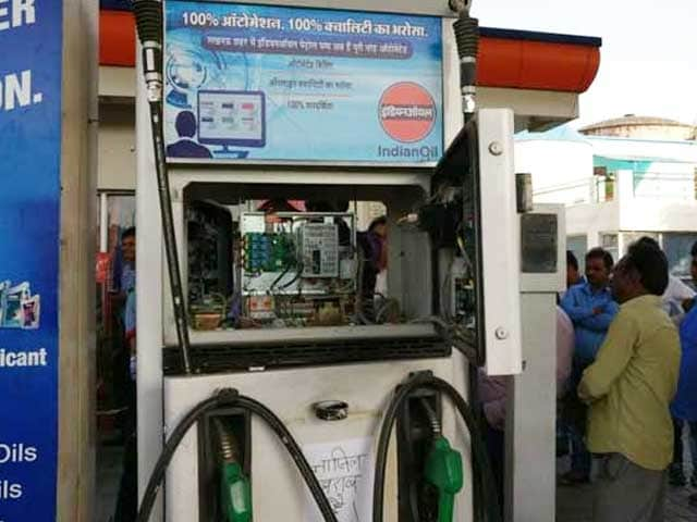 Video : Seconds Before A Raid, Petrol Pump 'Vanished' in UP's Lucknow